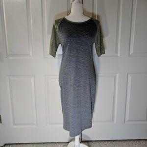 LuLaRoe Julia sheath dress size small